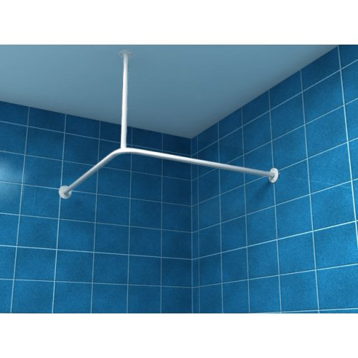 Shower Curtain Rod 90 90cm Up90